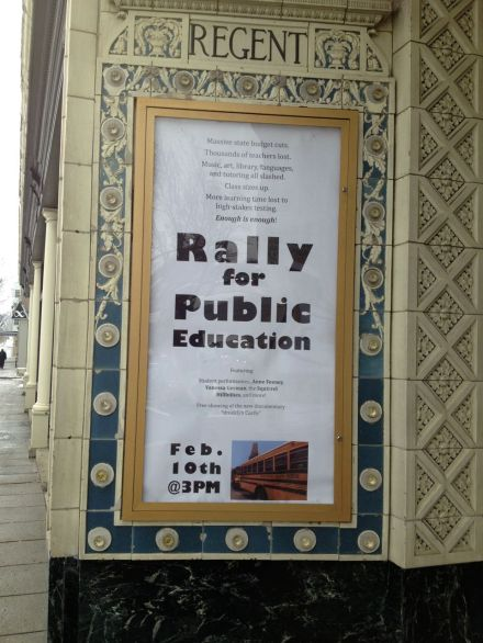 Rally Theater poster