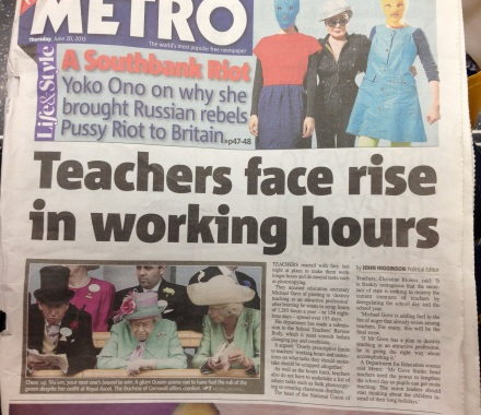 [Source: London Metro, 6-20-13]