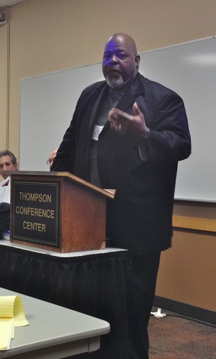 Jitu Brown, education community organizer in Chicago