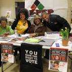 Co-sponsor, the Black Political Empowerment Project also did voter registration in collaboration with First Unitarian Church