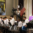 Pittsburgh Obama's Steel Drum Band performed a terrific 45 minute set for the audience as it got seated