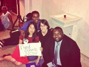 Our Philadelphia colleagues are in Harrisburg sitting in the Governor's office!