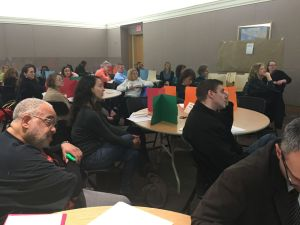 Over 50 people attended the Test-In on Saturday to discuss high-stakes-testing.